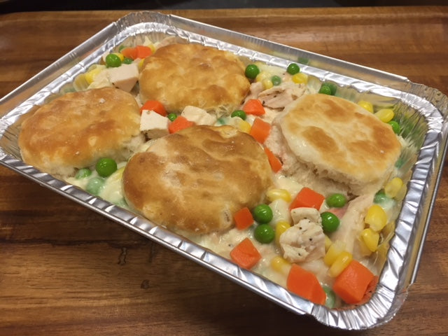 #08 Chicken & Biscuit Pot Pie