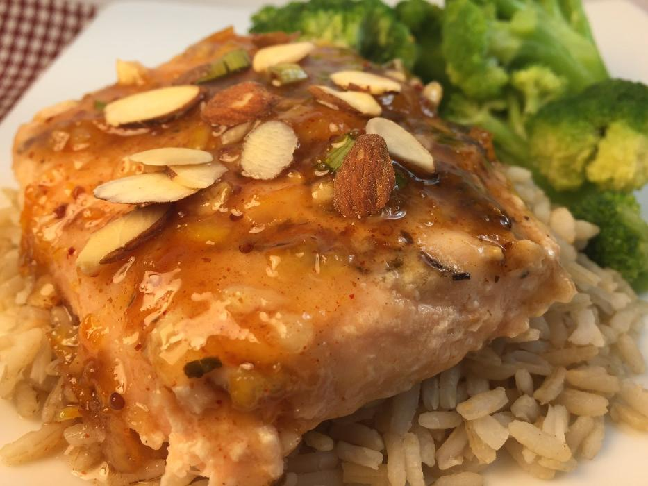 Citrus Glazed Salmon Prepared Meal
