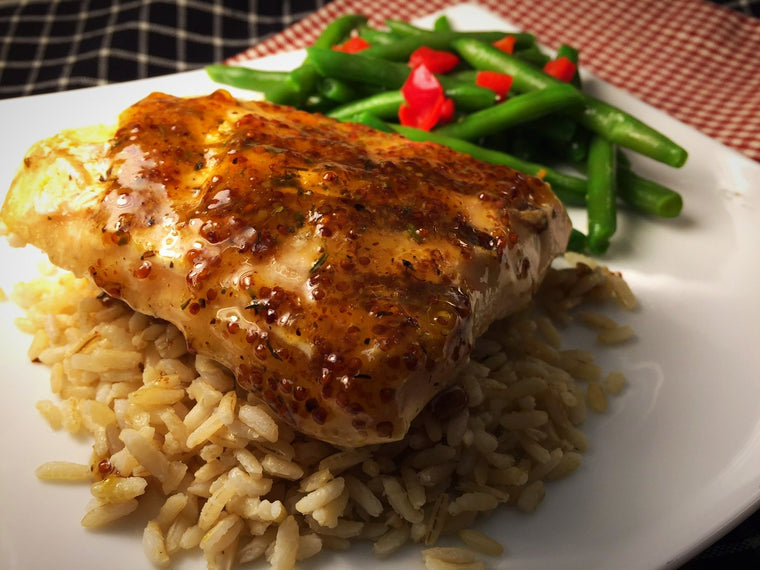 Maple Salmon Prepared Meal