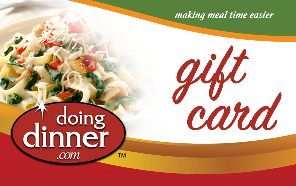 Gift Card from Doing Dinner