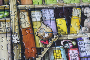 Puzzles and Books