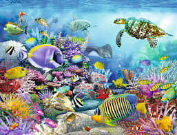 Ravensburger Puzzle-Coral Reef 2000pc