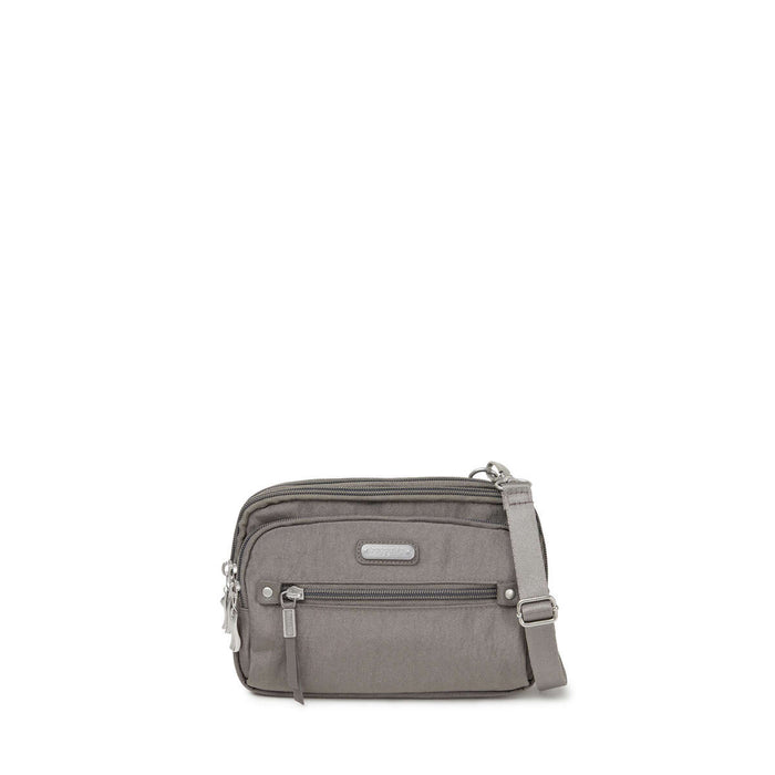 Baggallini - Time Zone RFID Crossbody - Sterling Shimmer