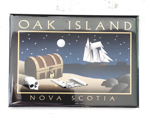 Nightfall Oak Island Magnet