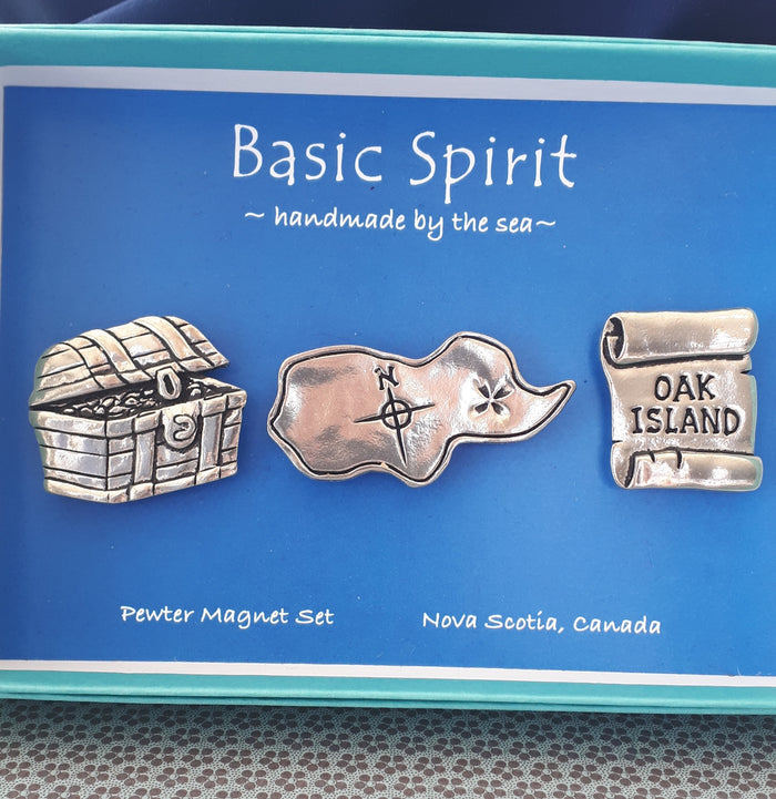 Basic Spirit Oak Island Magnet set