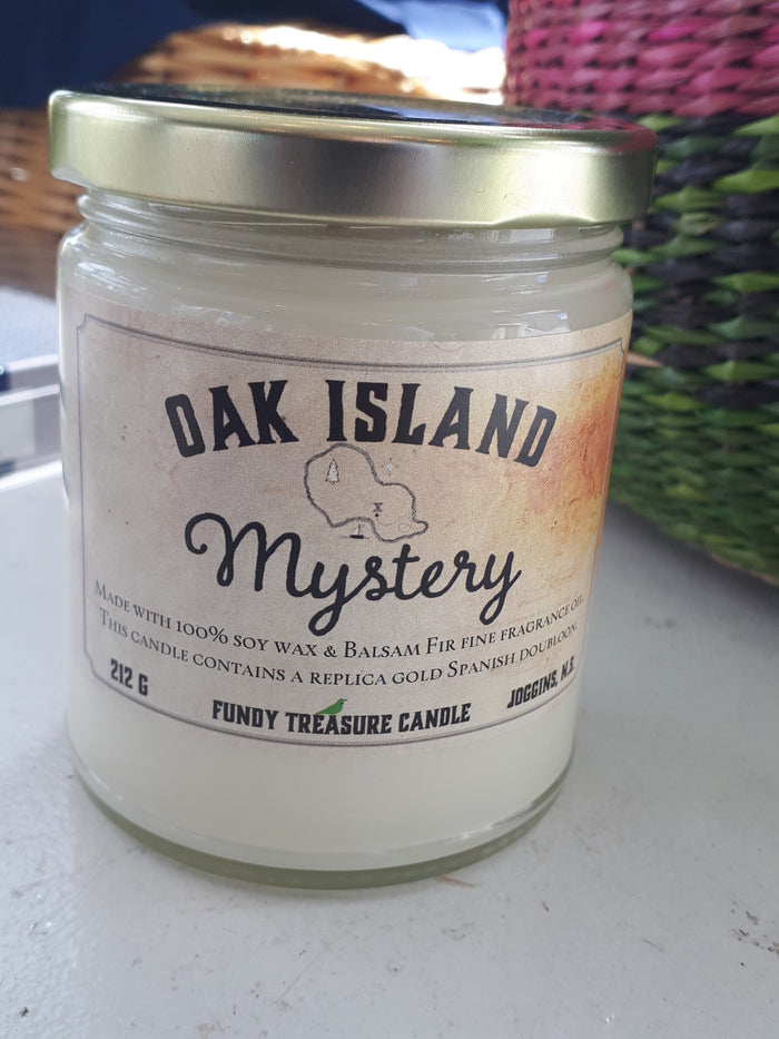 Oak Island Candle Balsam Fir
