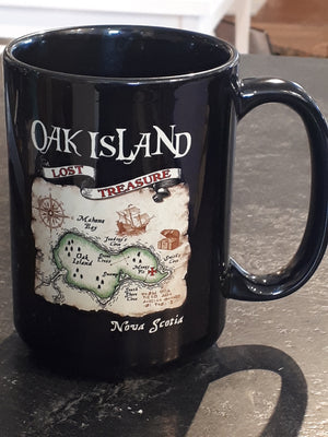 Oak Island Treasure mug