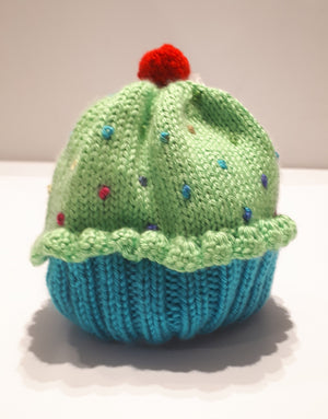 Handknit Children's Cupcake Hat
