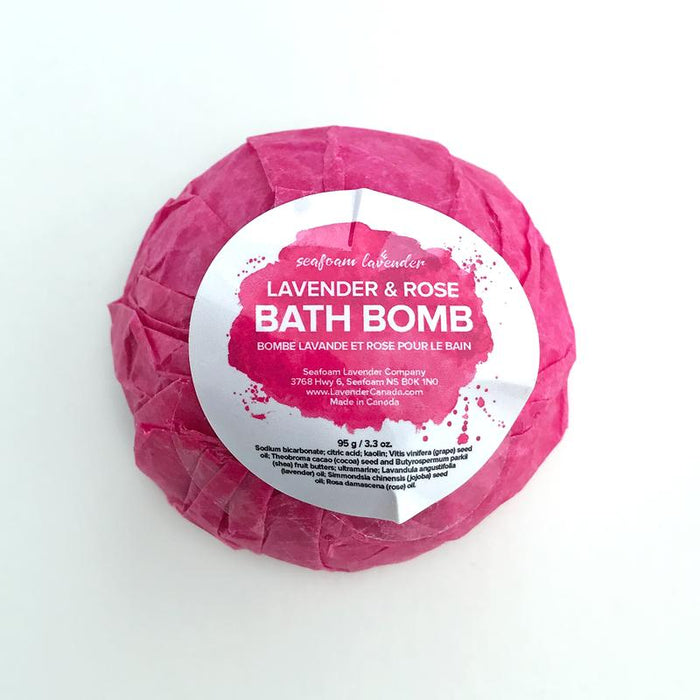 Lavender & Rose Bath Bomb