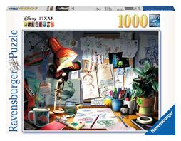 Ravensburger Puzzle- The Artist's Desk