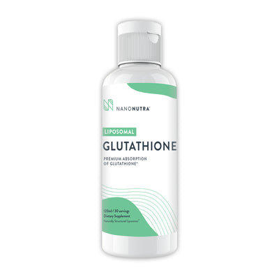 The master antioxidant! Liposomal Glutathione boosts the immune system, aids detoxification of the liver, and contains natural anti-aging support.*