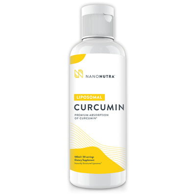 NanoNutra's Liposomal Curcumin delivers fast-acting results to promote healthy inflammatory relief to ease aches and pains.*