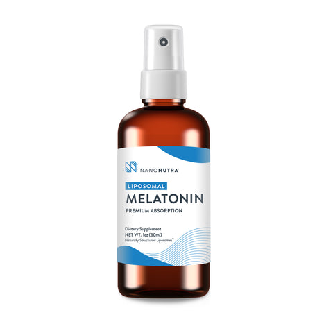 NanoNutra's Liposomal Melatonin Sleep Spray is a great solution for a restful sleep.*  The liposomal melatonin liquid mimics body-produced melatonin to greatly improve the quality of sleep, combat insomnia, and act as sleep aid relief.* Best of all, it works impressively fast thanks to it's liposomal melatonin spray format.