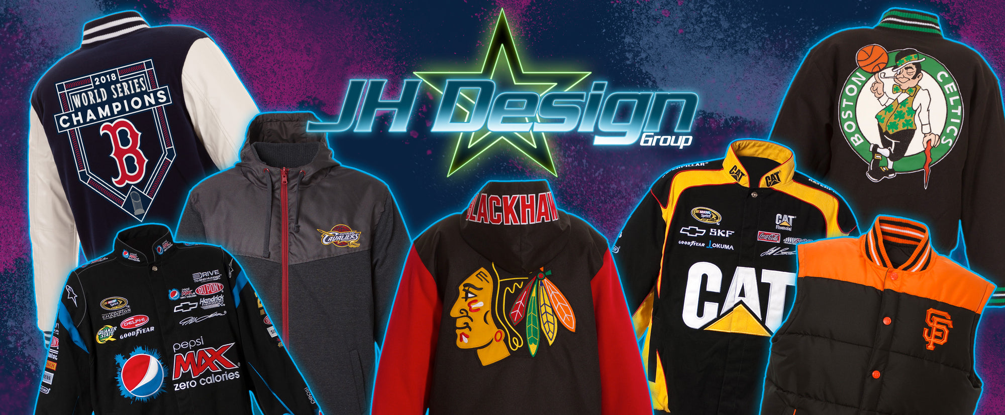 8c67d91c One Stop Shop for Licensed Sports Jackets! – JH Design Group
