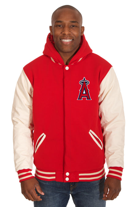 Los Angeles Angels Poly-Twill Jacket