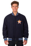 Houston Astros Reversible All-Wool Jacket