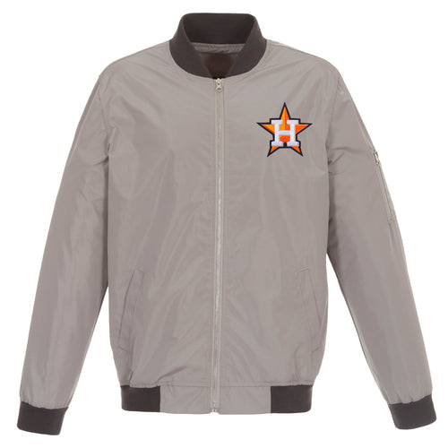 Houston Astros Nylon Bomber Jacket