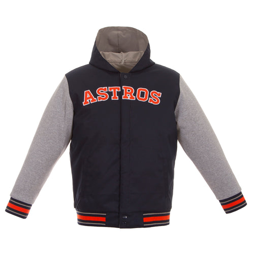 Houston Astros Kids Poly-Twill Jacket