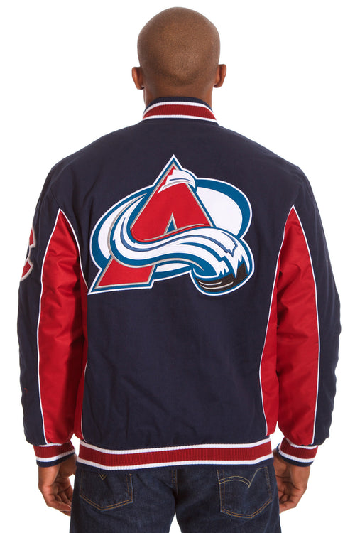 Colorado Avalanche Reversible Twill Jacket