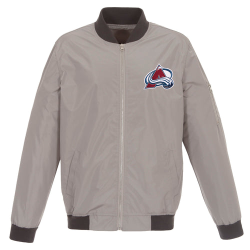 Colorado Avalanche Nylon Bomber Jacket