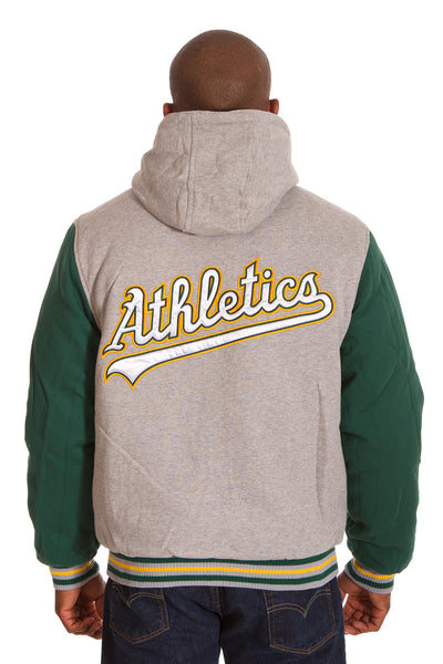 Oakland Athletics Two-Tone Fleece Jacket