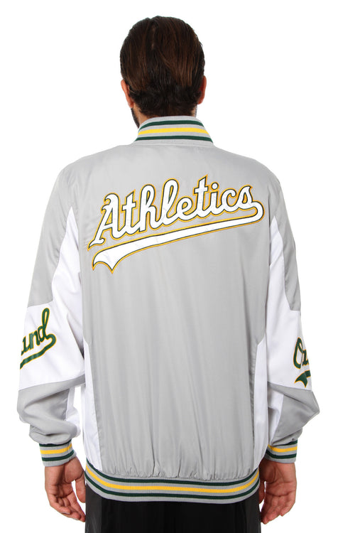 Oakland Athletics Ripstop Nylon Jacket