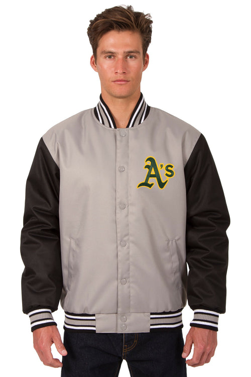 Oakland A's Poly-Twill Jacket