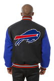 Buffalo Bills Embroidered Wool Jacket