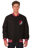 Portland Trail Blazers Reversible All-Wool Jacket