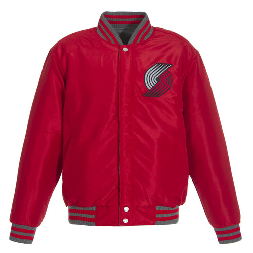 Portland Trail Blazers Reversible Wool Jacket