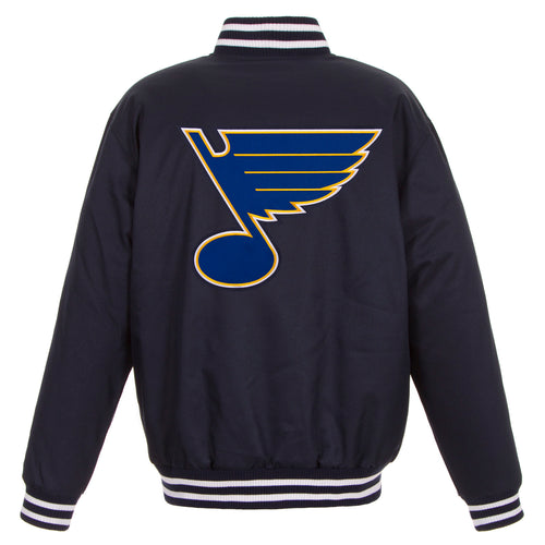St. Louis Blues Poly-Twill Jacket