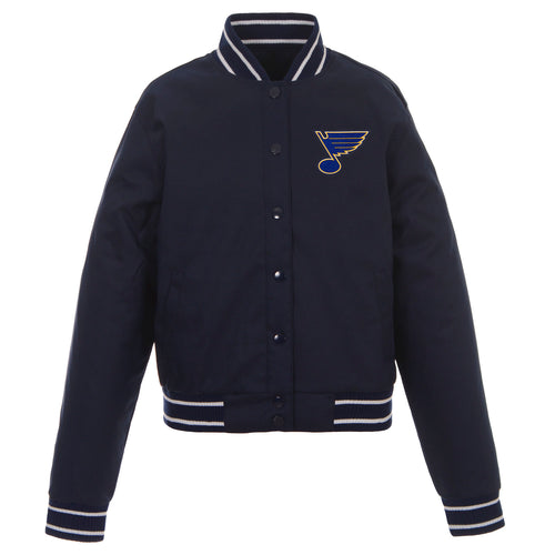 St. Louis Blues Ladies Poly-Twill Jacket