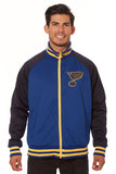 St. Louis Blues Polyester Track Jacket