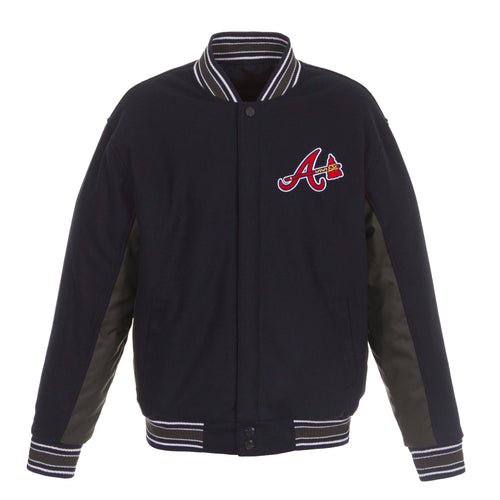 Atlanta Braves Reversible Wool Jacket