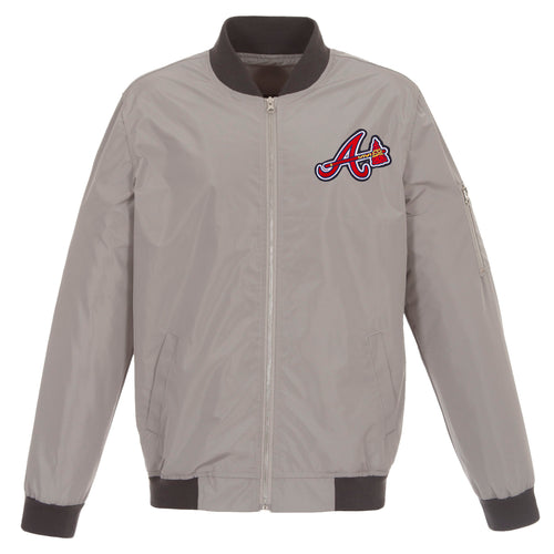 Atlanta Braves Nylon Bomber Jacket