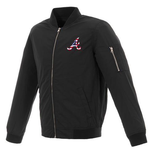 Atlanta Braves Americana Nylon Bomber Jacket