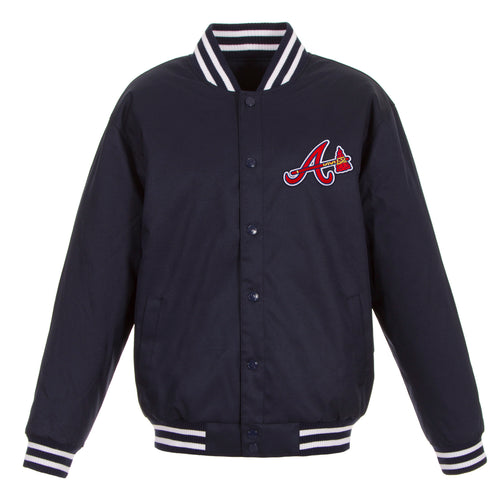 Atlanta Braves Poly-Twill Jacket