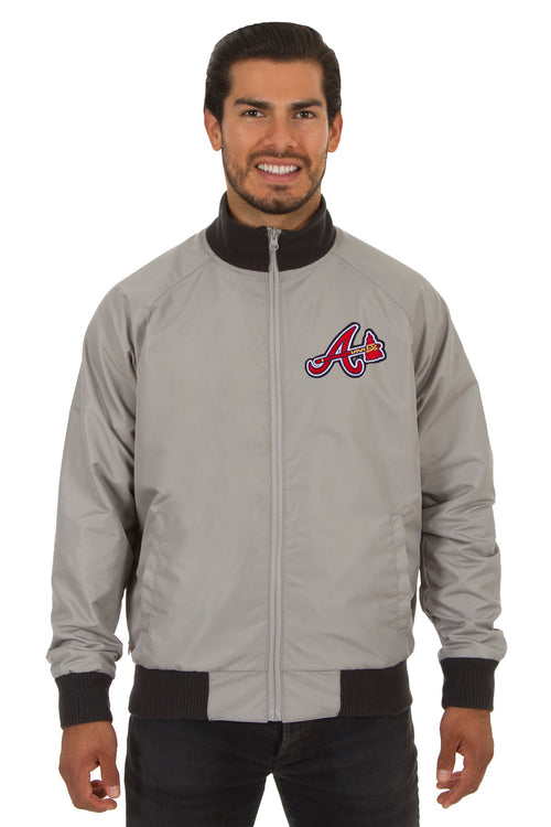 Atlanta Braves Reversible Polyester Track Jacket