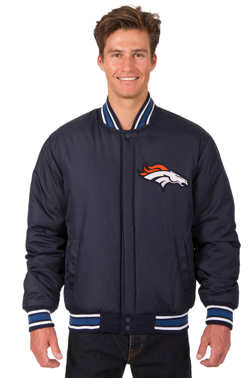 Denver Broncos All-Wool Reversible Jacket