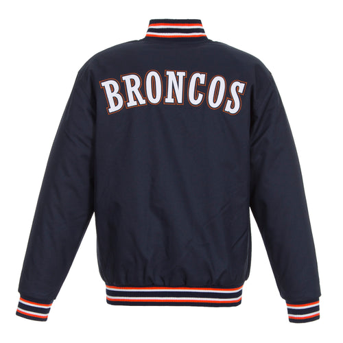 Denver Broncos Poly-Twill Jacket