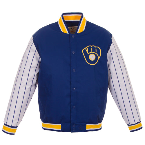 Milwaukee Brewers Poly-Twill Jacket