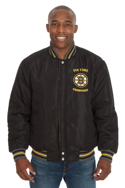 Boston Bruins Reversible Commemorative Jacket