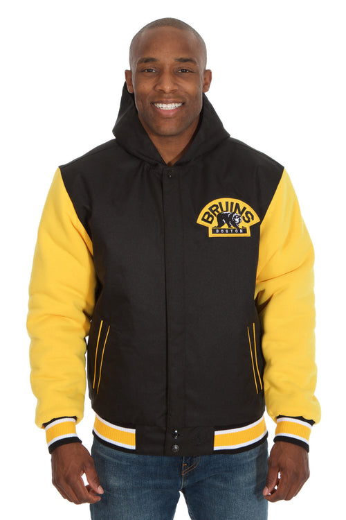 Boston Bruins Reversible Poly-Twill Jacket