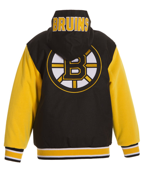 Boston Bruins Kid's Reversible Poly-Twill Jacket