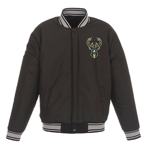 Milwaukee Bucks Reversible Wool Jacket