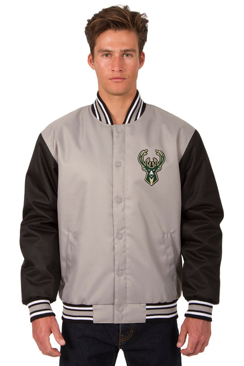 Milwaukee Bucks Poly-Twill Jacket