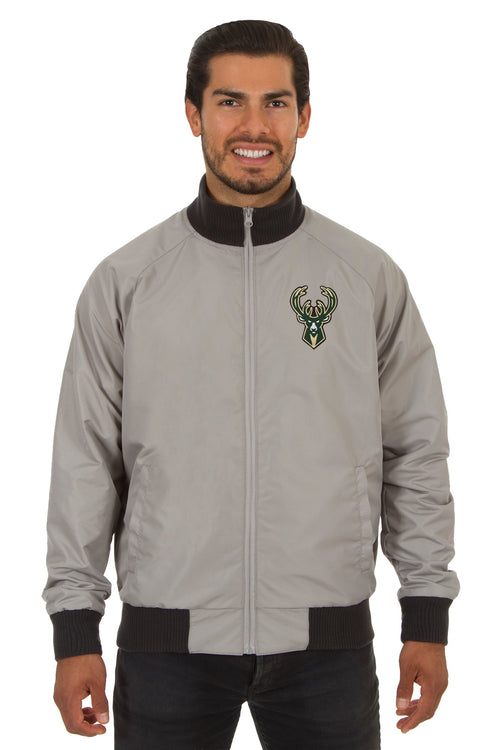 Milwaukee Bucks Reversible Track Jacket