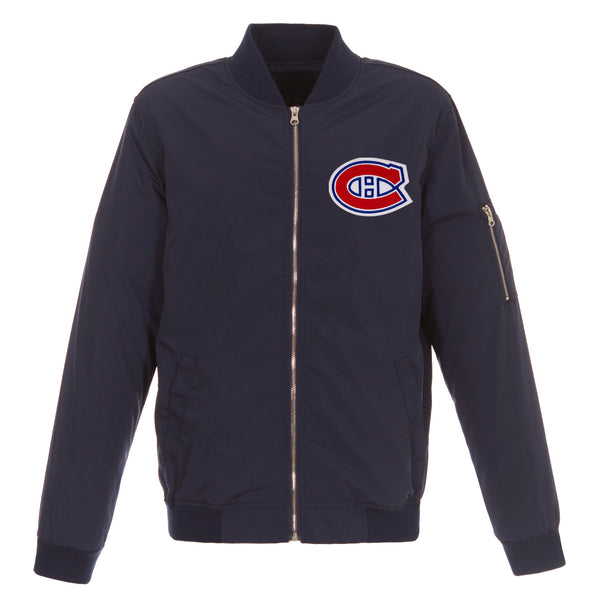 Montreal Canadiens Nylon Bomber Jacket