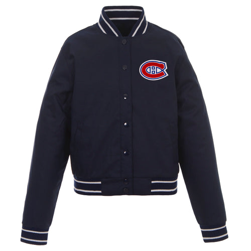 Montreal Canadiens Ladies Poly-Twill Jacket