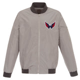 Washington Capitals Nylon Bomber Jacket